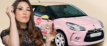 Citroen Creates Girly DS3 With Cosmetics Company [Photo Gallery]