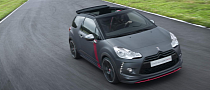 Citroen DS3 Cabrio Racing Concept Revealed [Photo Gallery]
