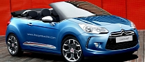 Citroen DS3 Convertible Coming to Paris Motor Show