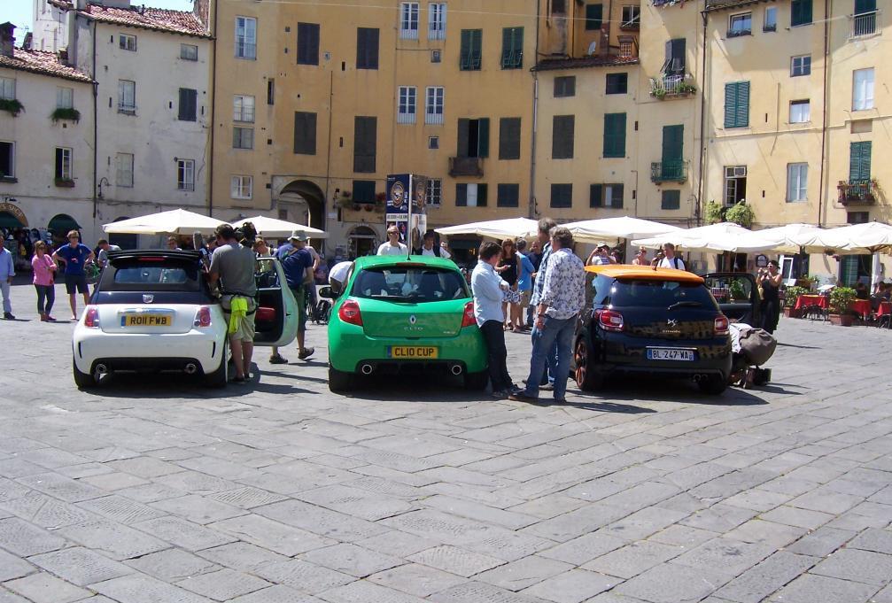 Fiat 500 Abarth Esseesse Top Gear