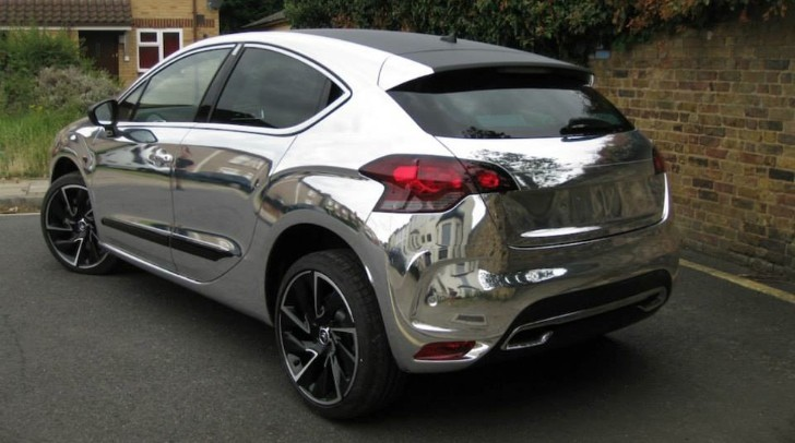 Citroen DS4 Gets Chrome Wrap [Photo Gallery]