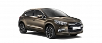 Citroen DS4 Gets Multiple Matte Finishes