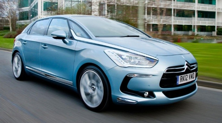 Citroen DS5 On Sale in UK: Full Pricing Announced