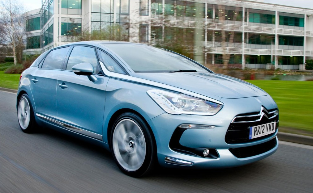 citroen ds5 on sale in uk full pricing announced autoevolution. Black Bedroom Furniture Sets. Home Design Ideas