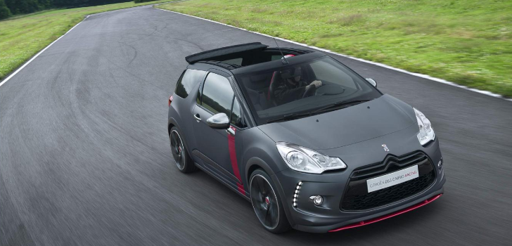 Citroen Planning Limited Production DS3 Cabrio Racing Concept