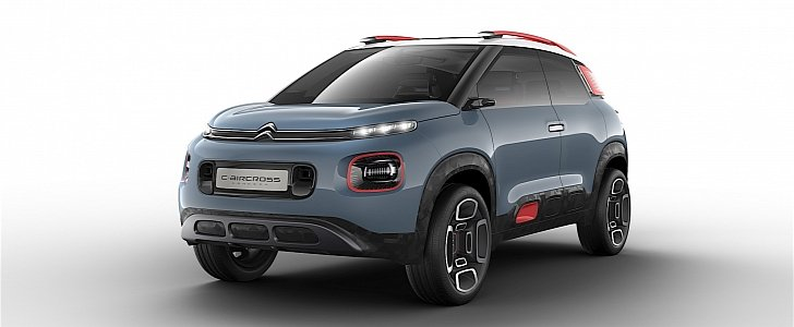 citroen reveals its new vision for compact suvs with c aircross concept autoevolution. Black Bedroom Furniture Sets. Home Design Ideas