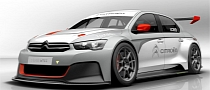 Citroen Teases C-Elysee WTCC Ahead of Frankfurt Debut