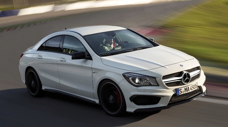 CLA 45 AMG Gets Track Tested by Digital Trends [Photo Gallery]