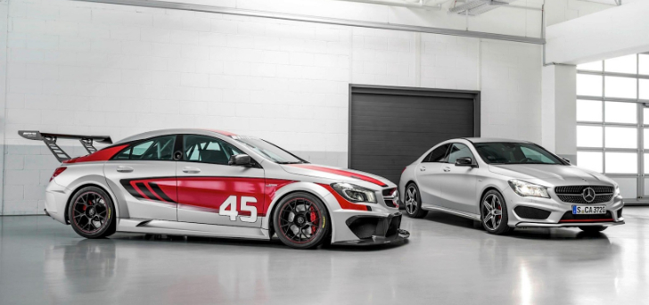 CLA 45 AMG Racing Series Concept Previewed on Facebook [Photo Gallery]