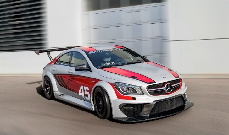 CLA 45 AMG Racing Series Officially Revealed [Photo Gallery]