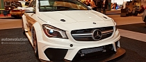 CLA 45 AMG Racing Series Shows up in Esssen [Video] [Live Photos]