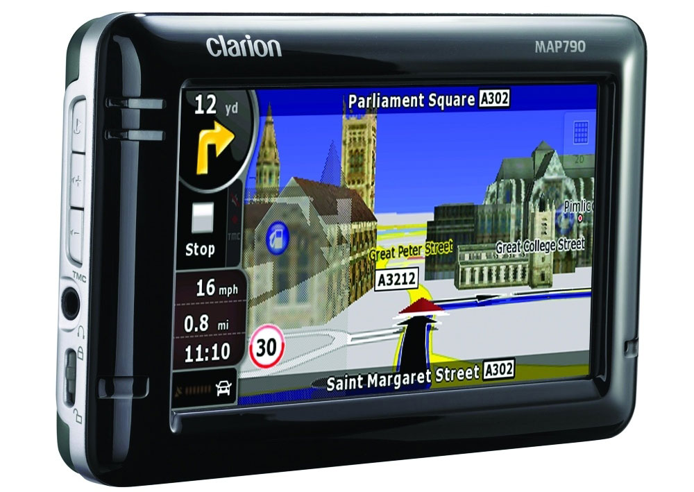 Clarion Launches MAP790 PND