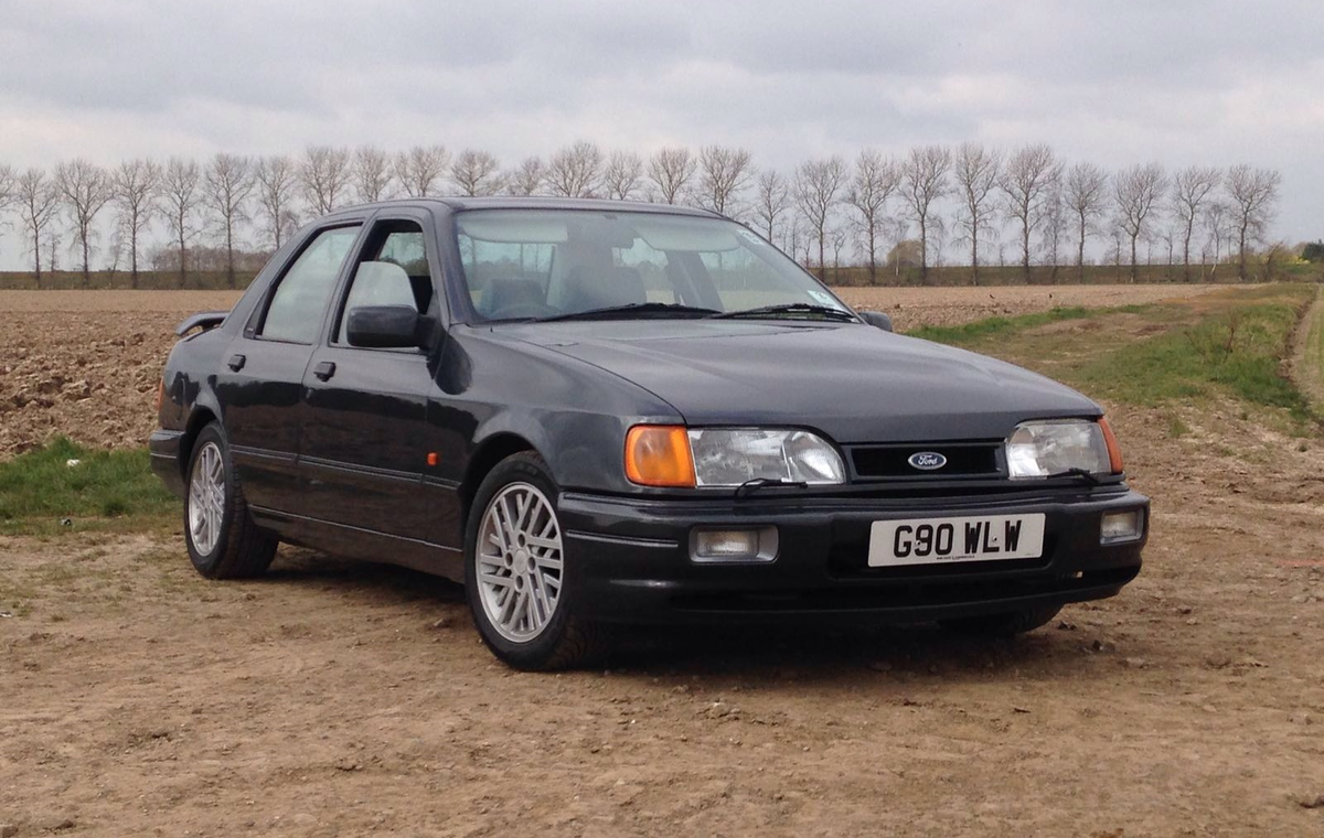 clarkson driven ford sierra rs cosworth pops up for sale could be yours autoevolution. Black Bedroom Furniture Sets. Home Design Ideas