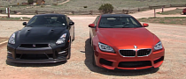 Clash of the Titans: BMW F13 M6 vs 2014 Nissan GT-R [Video]