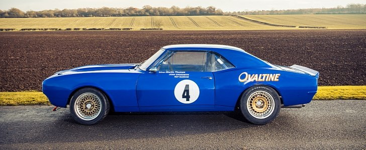 Classic Chevrolet Camaro Race Car For Sale Still Runs