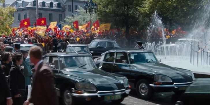 Classic Citroen DS and More in X-Men: Days of Future Past [Video]