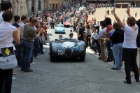Jaguar at the 2010 Mille Miglia