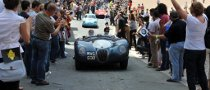 Classic Jaguars to Stun Audience at the 2010 Mille Miglia