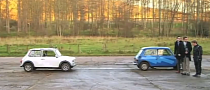Classic Mini Breaks Parallel Parking World Record [Video]