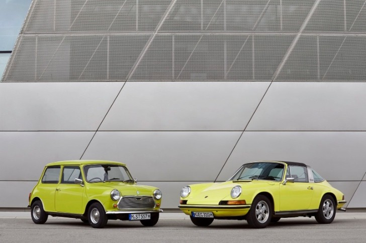 Classic Mini Says Happy 50th Birthday to Porsche 911 [Photo Gallery]