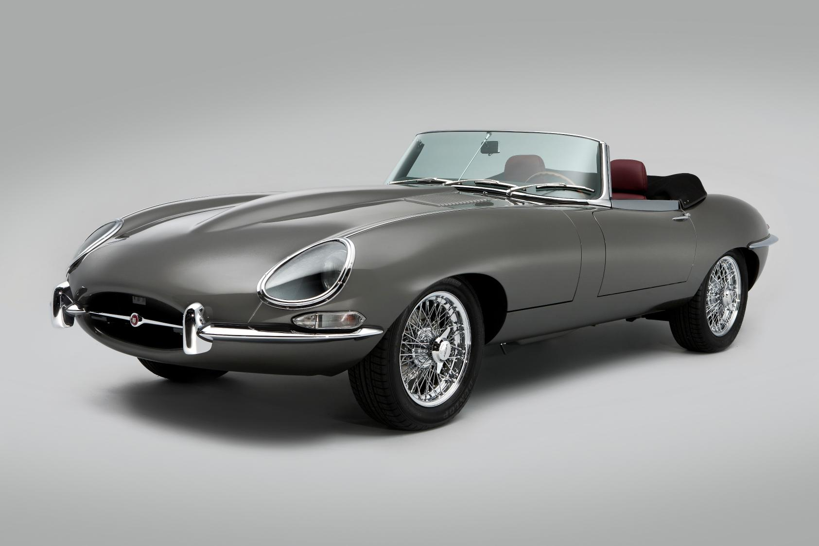 Classic Motor Cars Unveils Unique Jaguar E Type 70852 on jaguar xke modifications