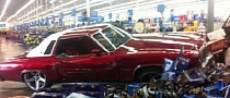 Classic Oldsmobile Cutlass Crashed Into Walmart