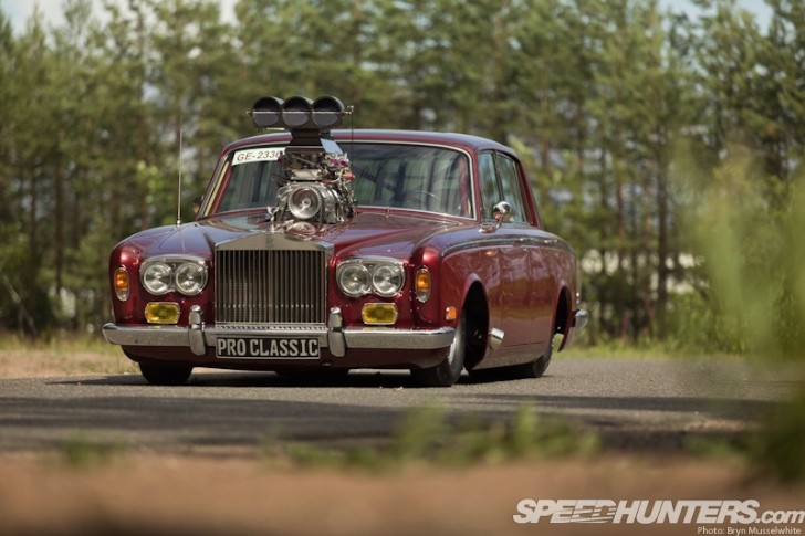 Classic Rolls Royce Gets Blown Gm Engine Becomes Luxury