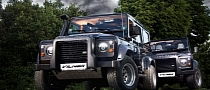 Classy Meets Rugged With Vilner's Land Rover Defenders