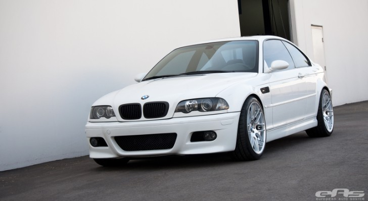 Clean BMW E46 M3 Receives EAS Suspension [Photo Gallery]