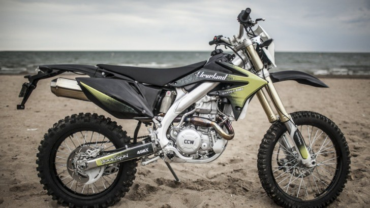 Cleveland CycleWorks' Hooligun Shows Too Much Honda CRF450X