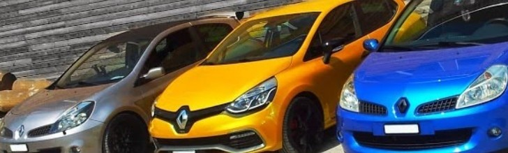 Clio 4 RS 200 EDC Challenged by Predecessors [Video]