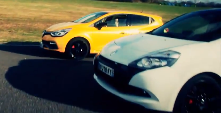 Clio 4 RS Much Faster Than Clio 3 RS! [Video]