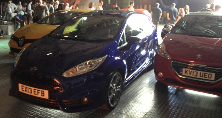 Clio RS, Fiesta ST and 208 GTi on Top Gear Season 20 Episode 1