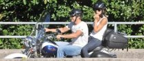 Clooney Takes His New Girlfriend Out for a Ride