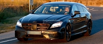 CLS 63 AMG Shooting Brake in Most Romantic Spyshots Yet!