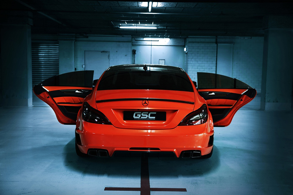 Cls 63 amg stealth by gsc spotted in underground garage for Garage amg auto