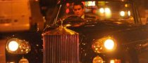 Colin Farrell Spotted in A Rolls Royce Convertible