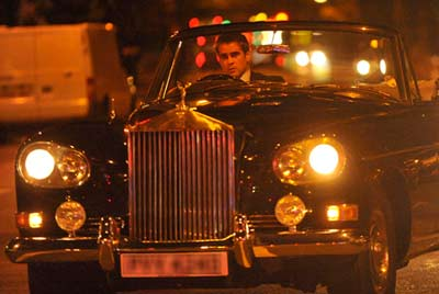 Rolls Royce Silver Cloud >> Colin Farrell Spotted in A Rolls Royce Convertible ...