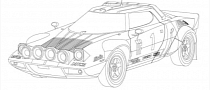 Coloring Book of Race Cars for The Little Motorist [Photo Gallery]