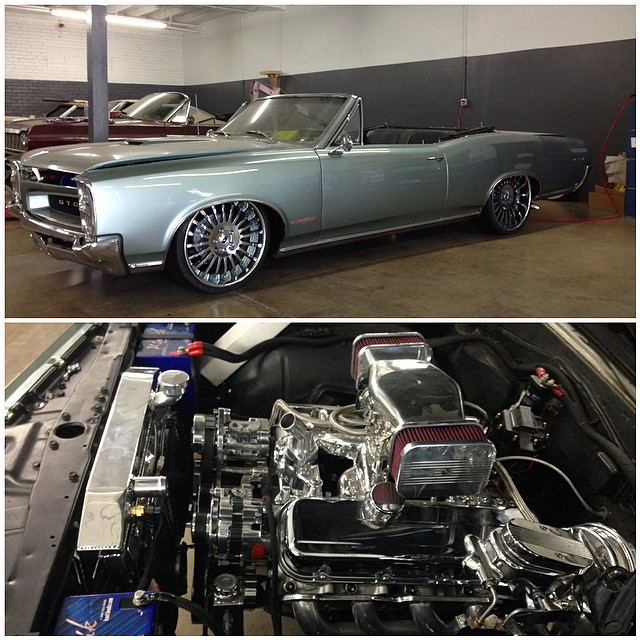 Comedian Kevin Hart Gets His 1966 Pontiac GTO Ready For