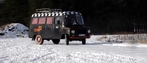Communist-Built Nysa Vans Perform Extreme Snow Drifting [Video]