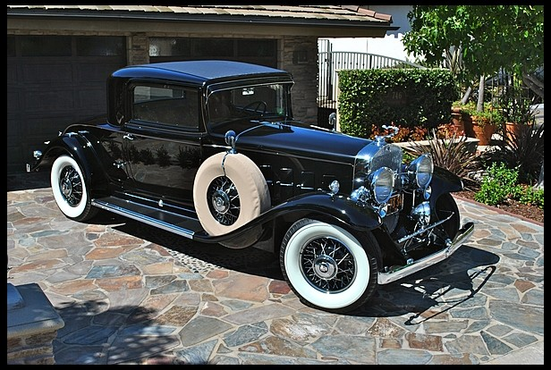 concours winning cadillac v12 rumble seat under the hammer. Black Bedroom Furniture Sets. Home Design Ideas