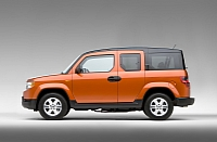 2011 is the last model year for the boxy Honda Element