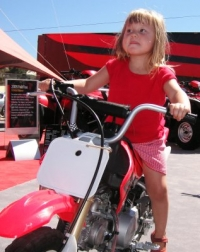 No more motorcycles for your kid!