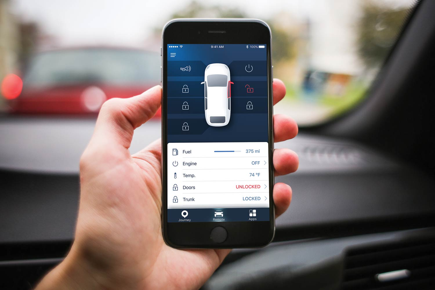 connected apps could leave former owners in control of the car you buy