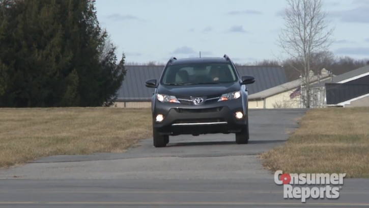 Consumer Reports - 2013 Toyota RAV4 In Top 5 Small SUVs [Video]