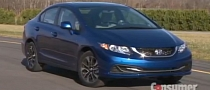 Consumer Reports Likes the 2013 Civic [Video]