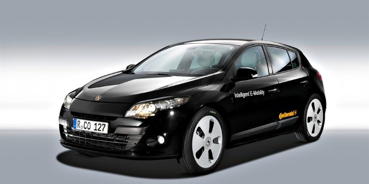 Continental Makes All-Electric Renault Megane