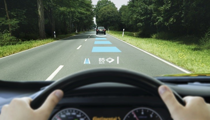 Continental Shows Its Augmented Reality Head-up Display ...