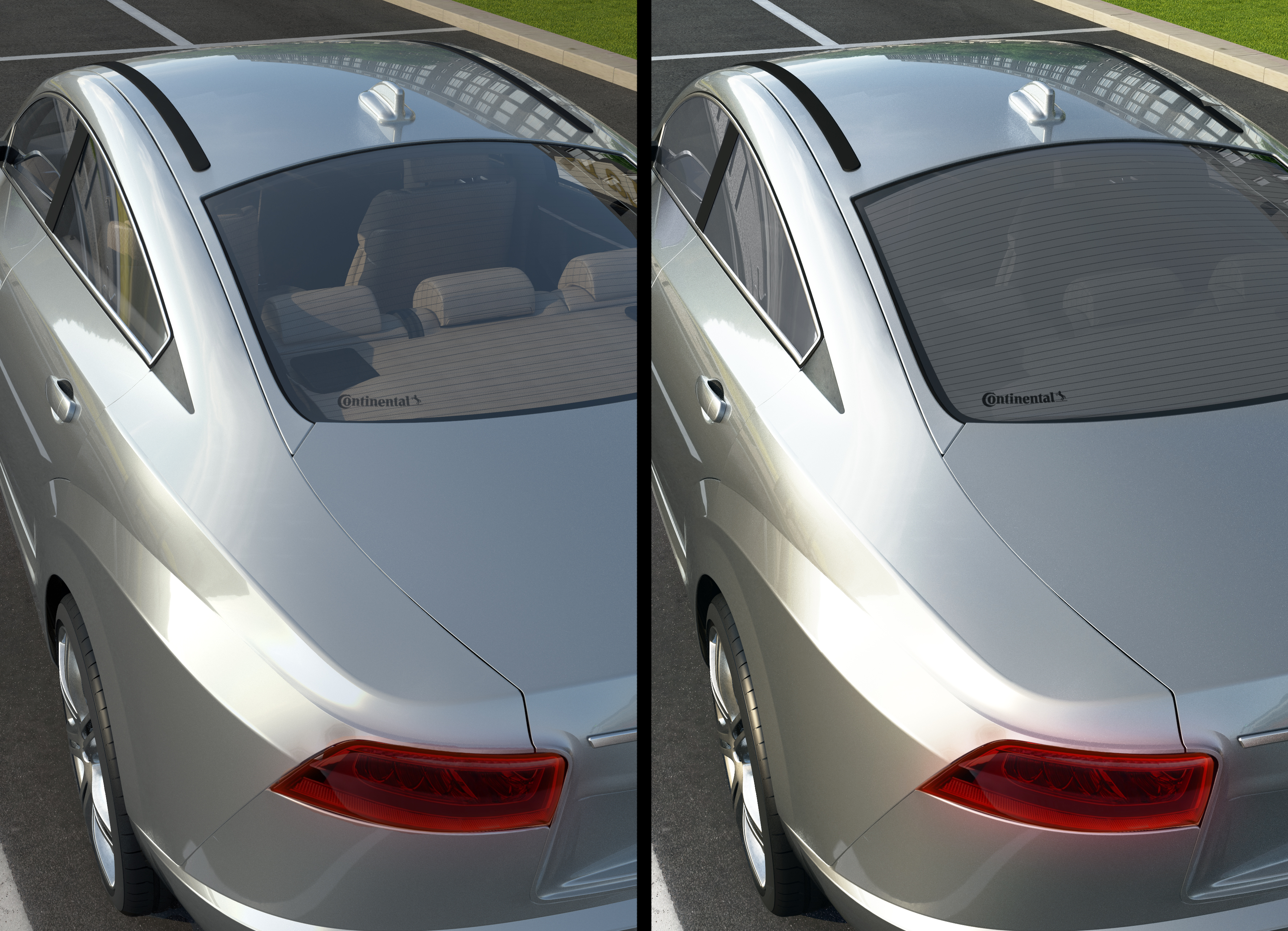 Continental Unveils Intelligent Car Windows That Can Tint